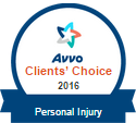 Avvo Client Choice 2016 Personal Injury